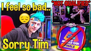 Everyone *HEARTBROKEN* as TimTheTatman DOESN'T QUALIFY after UNLUCKY FINAL GAME! - Fortnite Moments