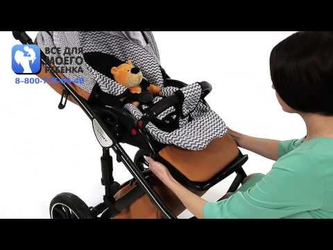 Anex Sport - видео обзор коляски Anex Sport 2 в 1 с отзывами родителей