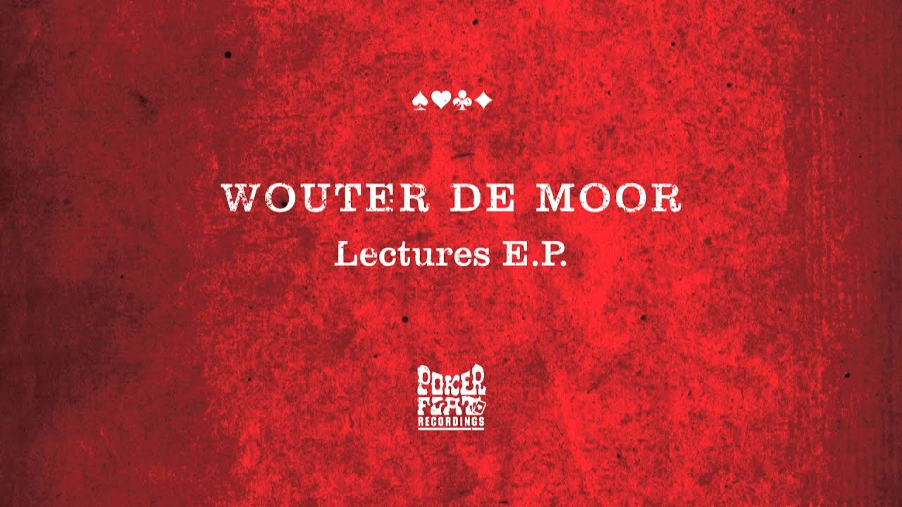 Wouter De Moor: Lectures feat Theo Parrish Words (Acapella)