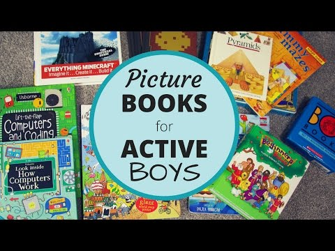 Picture Books for Active Boys