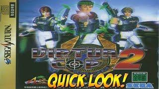 Sega Saturn Anniversary! Virtua Cop 2! - YoVideogames