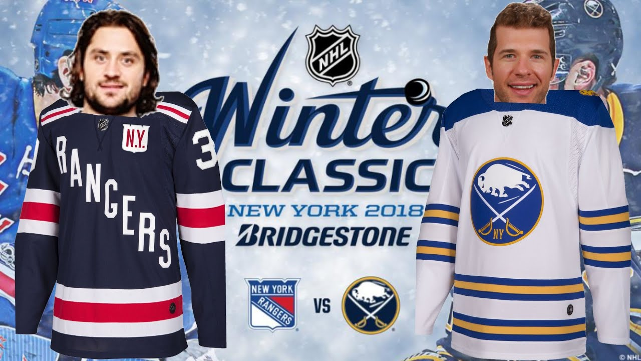 innovative design 332fe 06eff New York Rangers VS Buffalo Sabres Winter Classic 2018