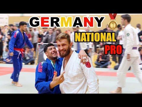 FIGHTING GERMAN GIANTS!? - GERMANY NATIONAL PRO VLOG BJJ