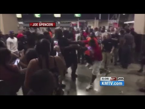 Brawl breaks out after event at Ralston Arena