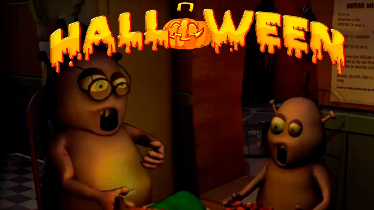английские мультики про хэллоуин