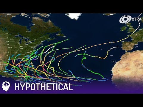 2040 North Atlantic Hypothetical Hurricane Season • TheMickScott99