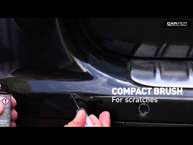 Touchup spot repair with pen or brush video Maston