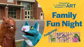 Virtual Family Fun Night: Puppet Time Machine Theatre