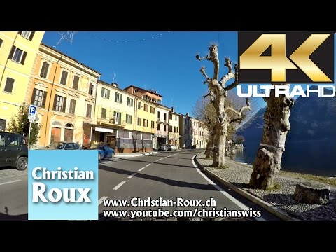 1-2X UHD - Switzerland 305 (Camera on board): Lago di Lugano (Hero4)