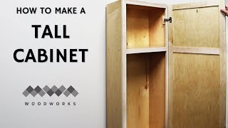Making a Tall Storage Cabinet