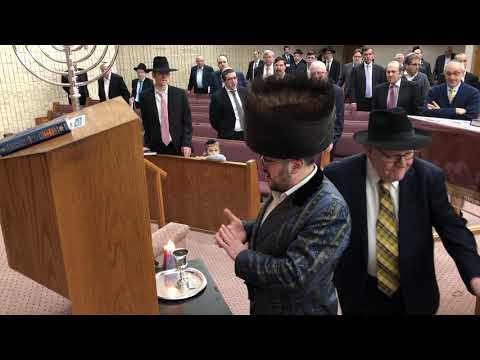 Lipa Schmeltzer Havdala at Young Israel of West Hempstead 12-8-2018