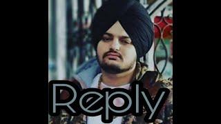 Reply new song by Sidhu moosewala (reply to karan aujla )