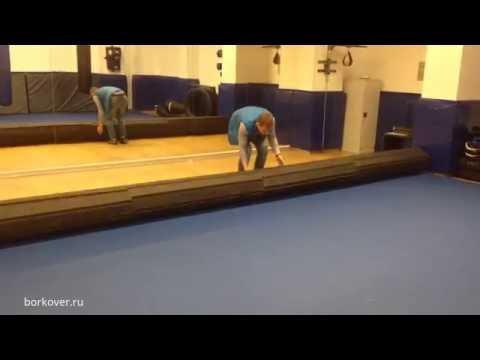Ролл-маты BORKOVER в фитнес-клуб OLYMP, Санкт-Петербург