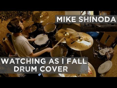 Mike Shinoda (Linkin Park) - Watching As I Fall - Drum cover (NEW SONG!)