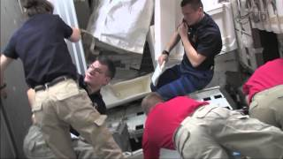 STS-133 Discovery - Flight Day 9 - Crew home Movies  PART 2