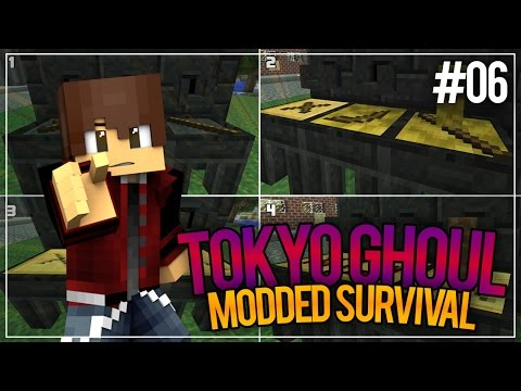 """Minecraft Tokyo Ghoul Survival Episode 06 - """"A QUINQUE PICKAXE!"""" [Minecraft Survival Roleplay]"""