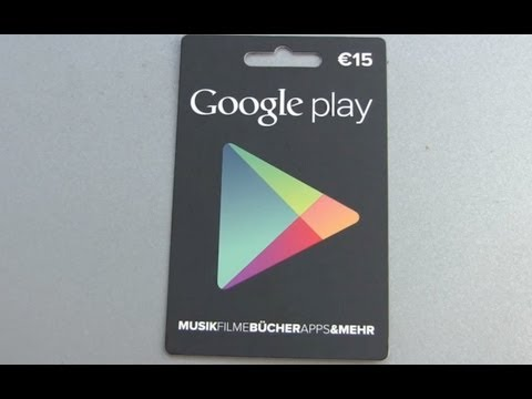 Google Play Store Cards hands on and how to use