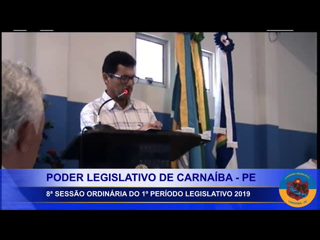 1ª Sessão 2º Período Legislativo 2019 (parte 01)