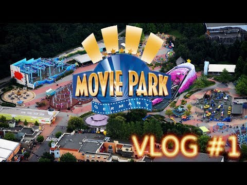 Movie Park Germany VLOG #1 | BladesLP |