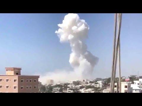 13 killed in twin explosions near presidential residence in Mogadishu
