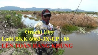 Fishing snake fishing with fish bait fishing Orochi 10gr