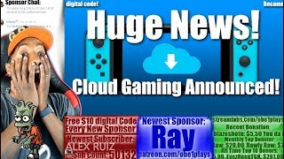 Huge Nintendo Switch News! Cloud Gaming Announced! Resident Evil Revelations 7 Coming This Week!
