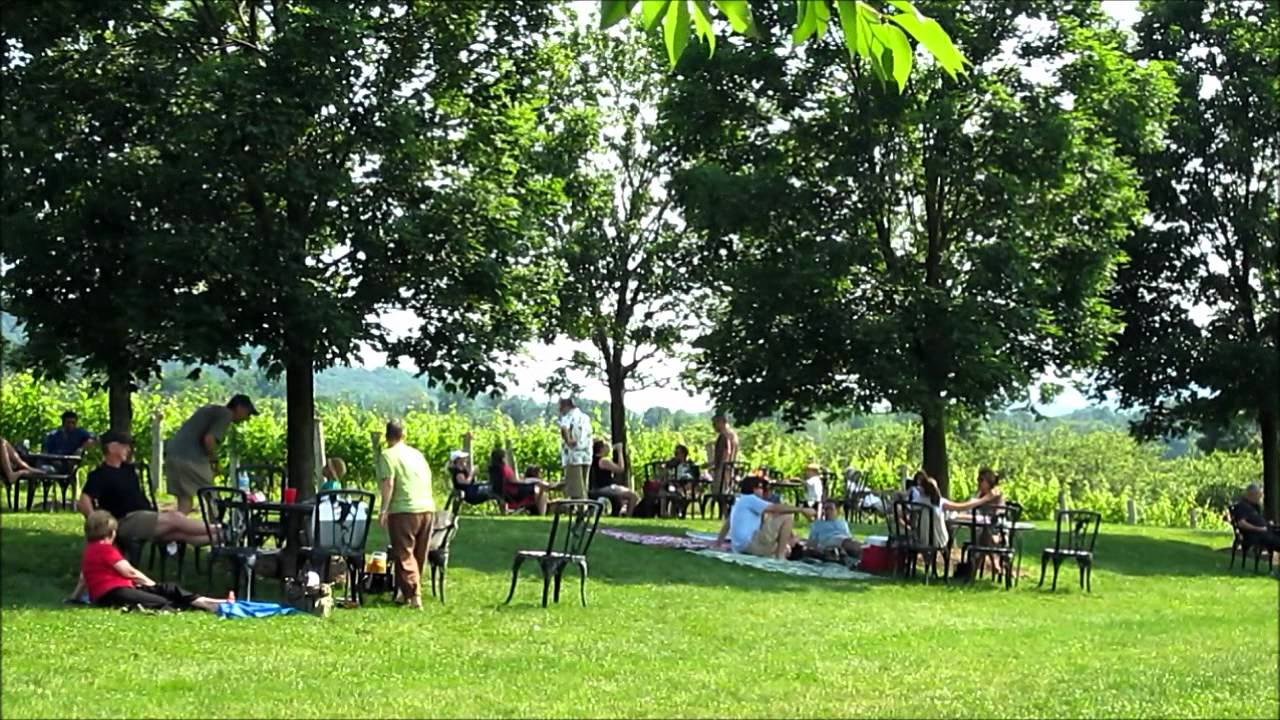 Breaux winery & vineyards video tour purcellville virginia usa