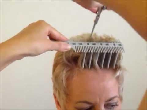 How to Cut  Women s Short Hair Layer Haircut  CombPal