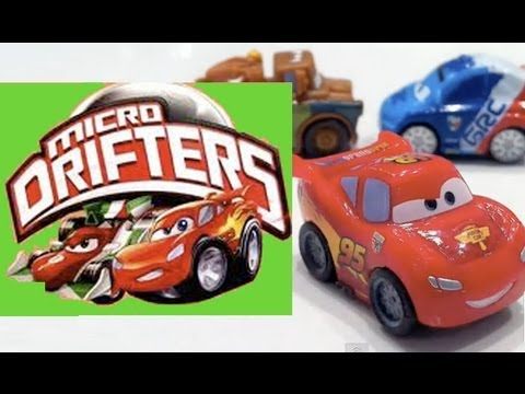 Cars 2 Micro-Drifters Rayo McQueen, Mate, Raoul Çaroule, Travel Video