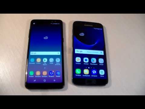 Samsung Galaxy A8 2018 vs Samsung Galaxy S7