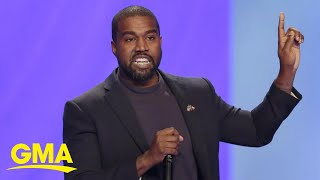 Kanye West says he's ruฑning for president l GMA
