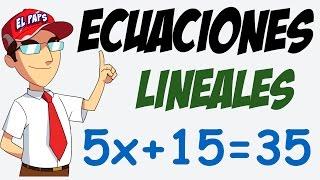Resolver Ecuaciones Lineales en 3 Sencillos Pasos