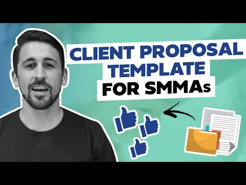 The Best Client Proposal Template to Land SMMA Clients - YouTube