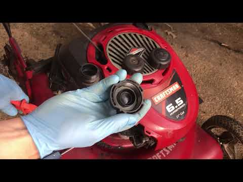 Lawn Mower Gas Cap Tank Not Venting Poor Running How To Check