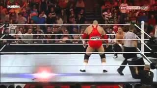 WWE Raw 1/9/12 Brodus Clay Entrance (Brodus Clay vs Curt Hawkins)