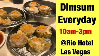 BEST DIMSUM IN LAS VEGAS | KJ DIMSUM and SEAFOOD | RIO HOTEL