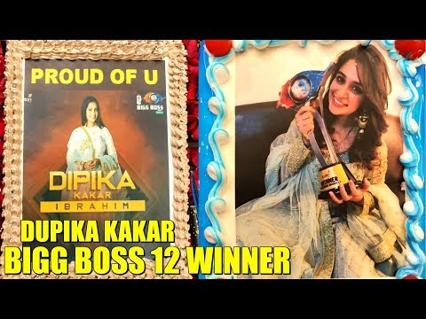 Bigg Bogg 12 WINNER Dipika Kakar's GRAND WELCOME By Family And Friends At Home