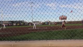 Brandi Giles home run @ West Texas A&M University 2018