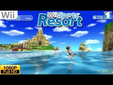 Wii Sports Resort - Wii Gameplay 1080p (Dolphin GC/Wii Emulator)