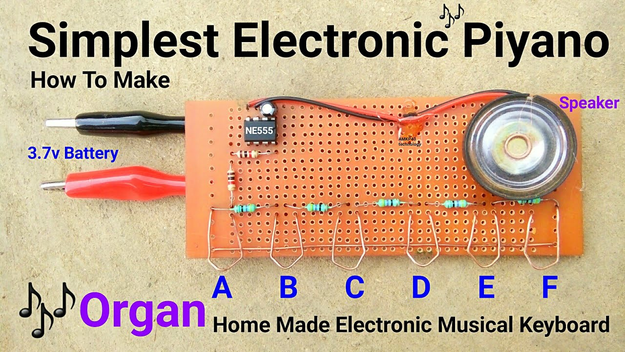 For Electronic Organ Circuit Description For Electronic Organ
