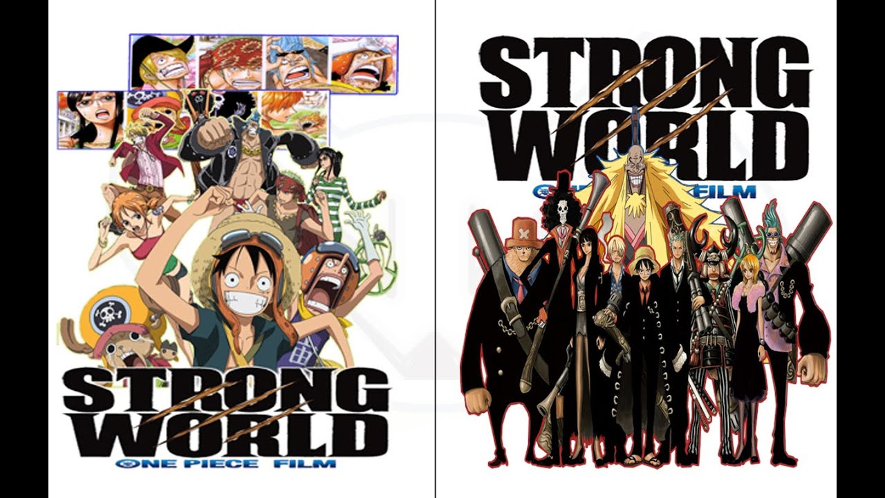 Anime Icon Folder #21 - One Piece Strong World - YouTube