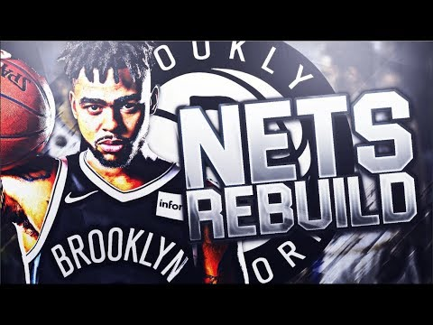 TOUGHEST TEAM TO REBUILD! BROOKLYN NETS OFF SEASON REBUILD CHALLENGE! NBA 2K18 MY LEAGUE