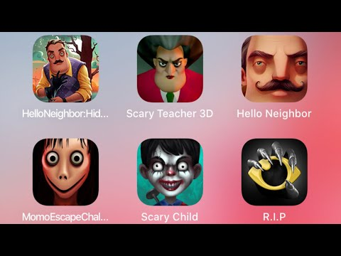 Scary Teacher 3d Child R.i.p. Android Gameplay Horror Game Ios Fgteev Hello Neighbor Best Games Hole