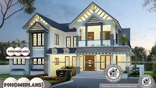 Indian House Design By 99HOMEPLANS COM  [ Esp: M021 ]