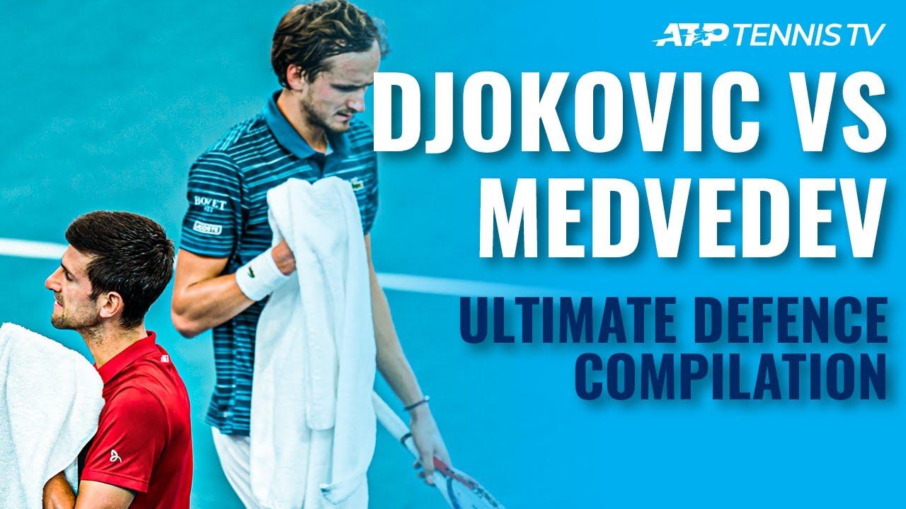Novak Djokovic vs Daniil Medvedev: ULTIMATE Tennis Defence 🛑