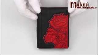 Видео обзор обложки для документов Макей (Розы) 570-07-42