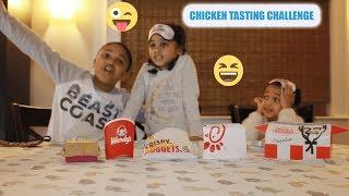 FAST FOOD Chicken Tasting Challenge