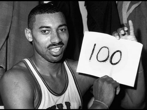 Wilt Chamberlain's 100 point Game.
