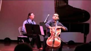 Chopin Sonata For Cello And  Piano  (scherzo)  - National Chamber Ensemble Concert