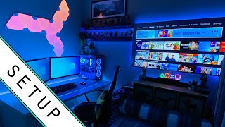 Gaming Setup / Room Tour! - 2020 - Ultimate Small Room Setup!